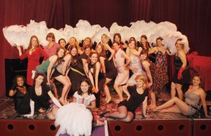 fan dance hen party