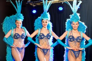 Showgirl hen party